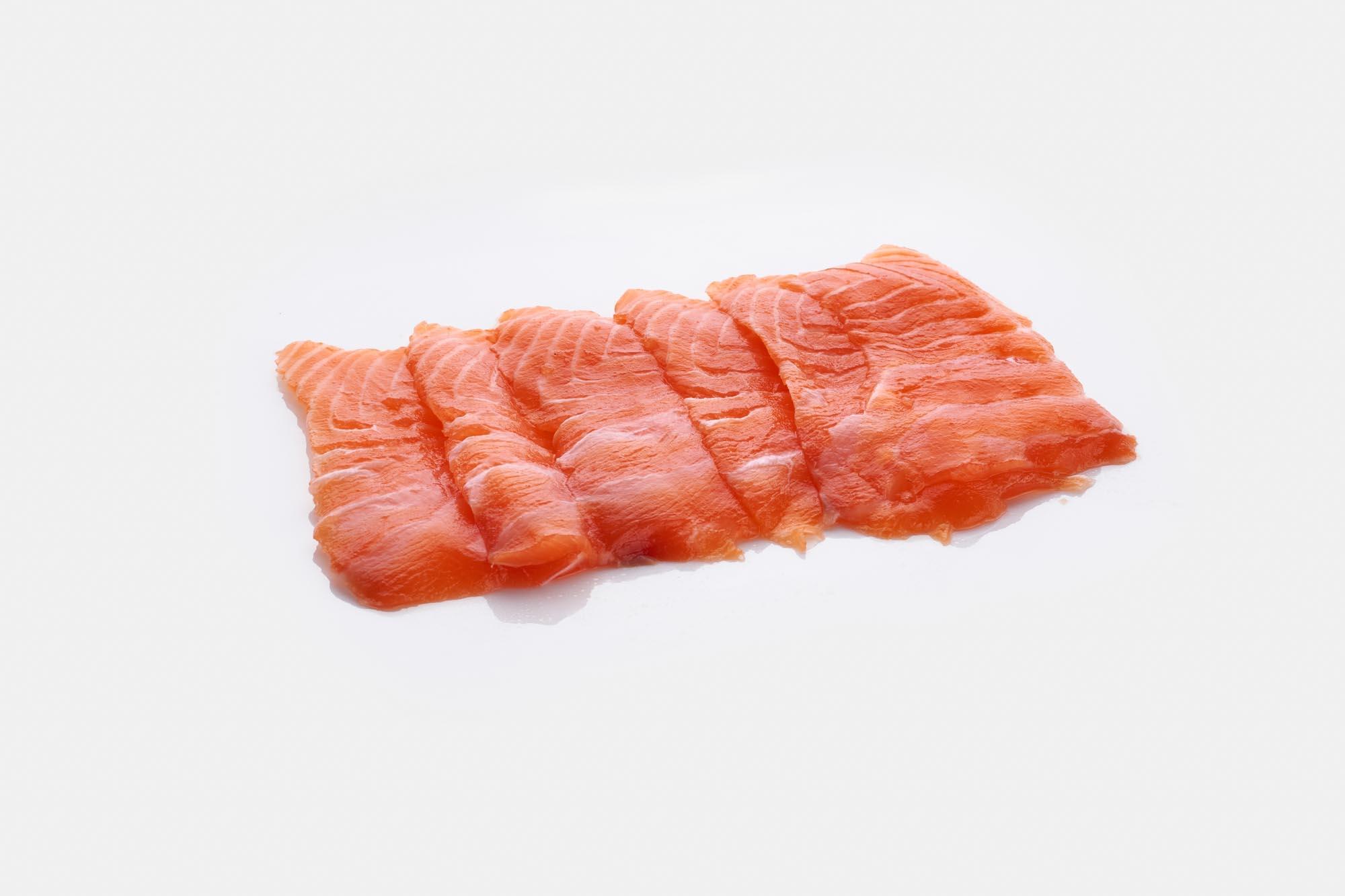 how to prepare salmon sashimi at home