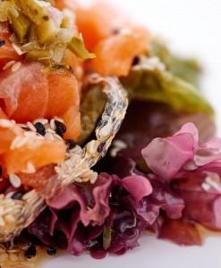 Sashimi y tartar