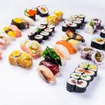 Sushi variado 64 piezas