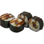 Futomaki de atún, pepino, lechuga y salsa picante kimuchi (pack 4 unidades)