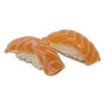 Nigiris de salmón (2 unidades)