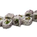 Seta shiitake marinada, rúcula, queso cremoso y furikake yukari (pack de 8 unidades)
