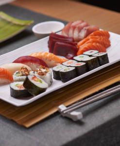 Sushi/sashimis variados